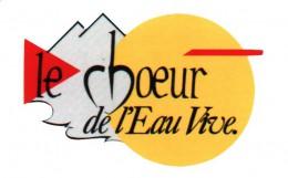 logo Choeur eau vive
