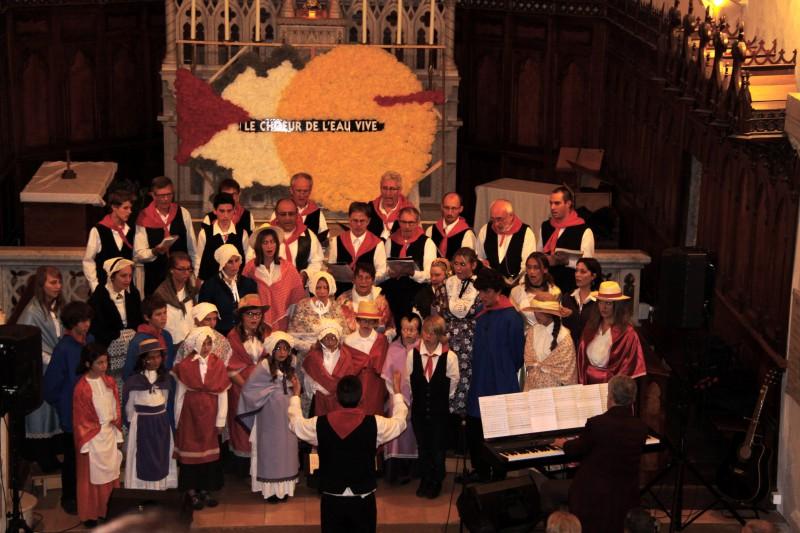 Concert à l'église de Duingt pour les 30 ans
