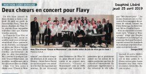 Concert pour Flavy